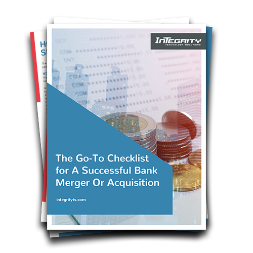 Banking merger and acquisition checklist